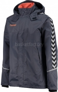Chaquetón de Baloncesto HUMMEL Authentic Charge All-Weather Jacket 083049-8730